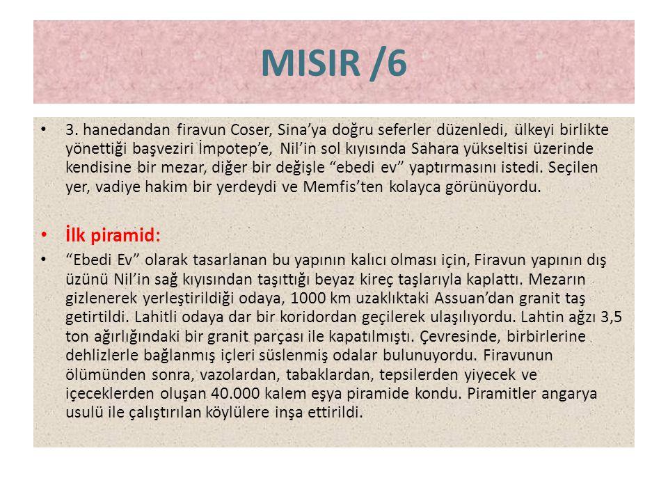 MISIR /6