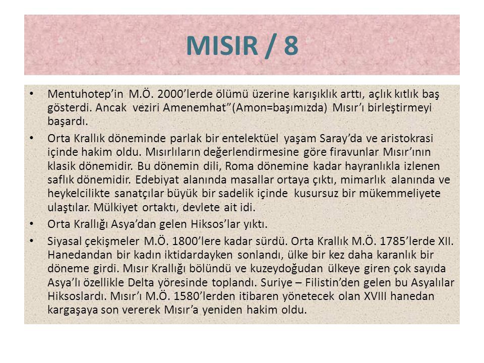 MISIR / 8