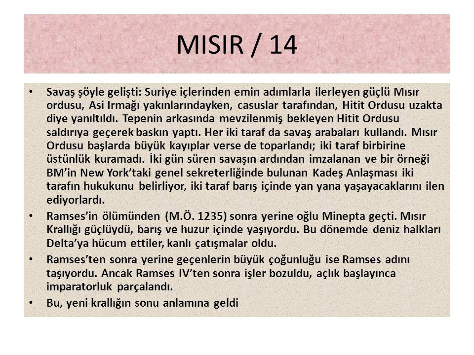 MISIR / 14
