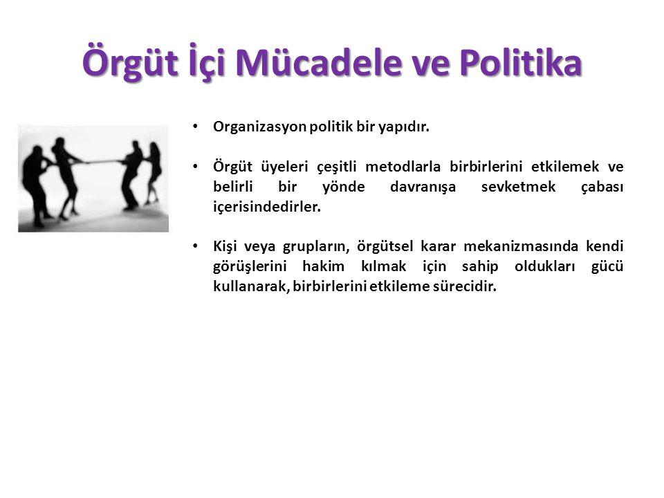 Örgüt İçi Mücadele ve Politika