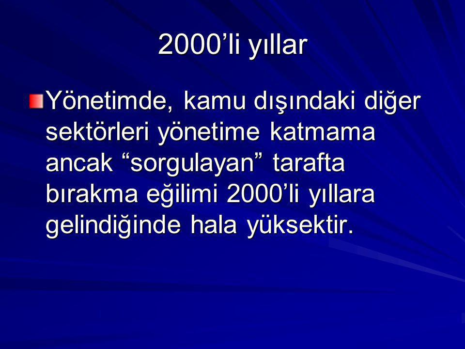 2000'li yıllar