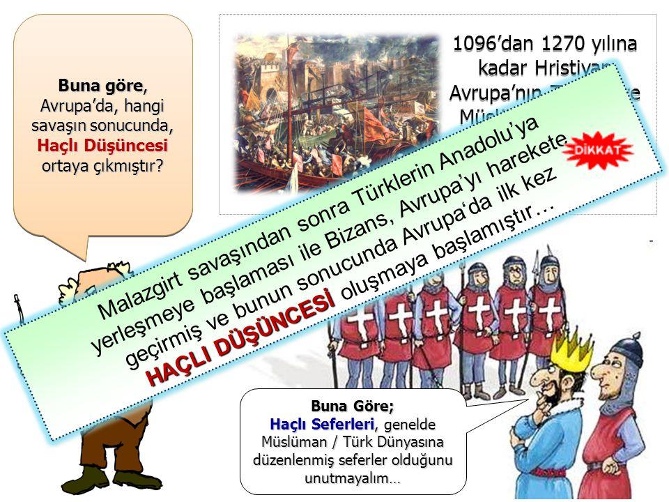 Malazgirt savaşından sonra Türklerin Anadolu'ya