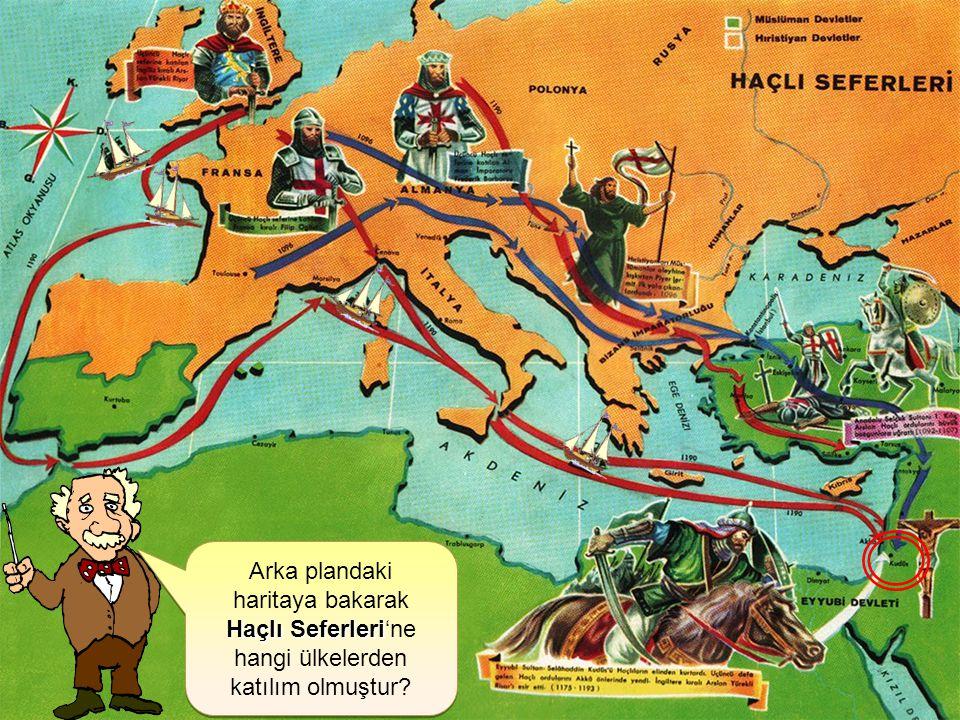 Arka plandaki haritaya bakarak
