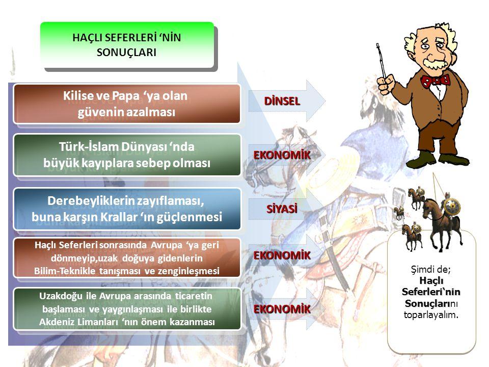 Türk-İslam Dünyası 'nda büyük kayıplara sebep olması