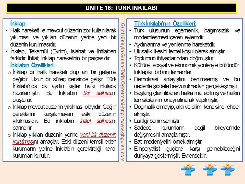 G.Hüseyin Gülen/Tarih Öğretmeni