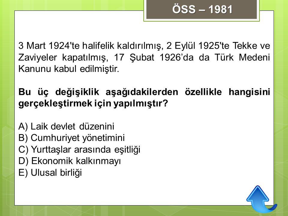 ÖSS – 1981