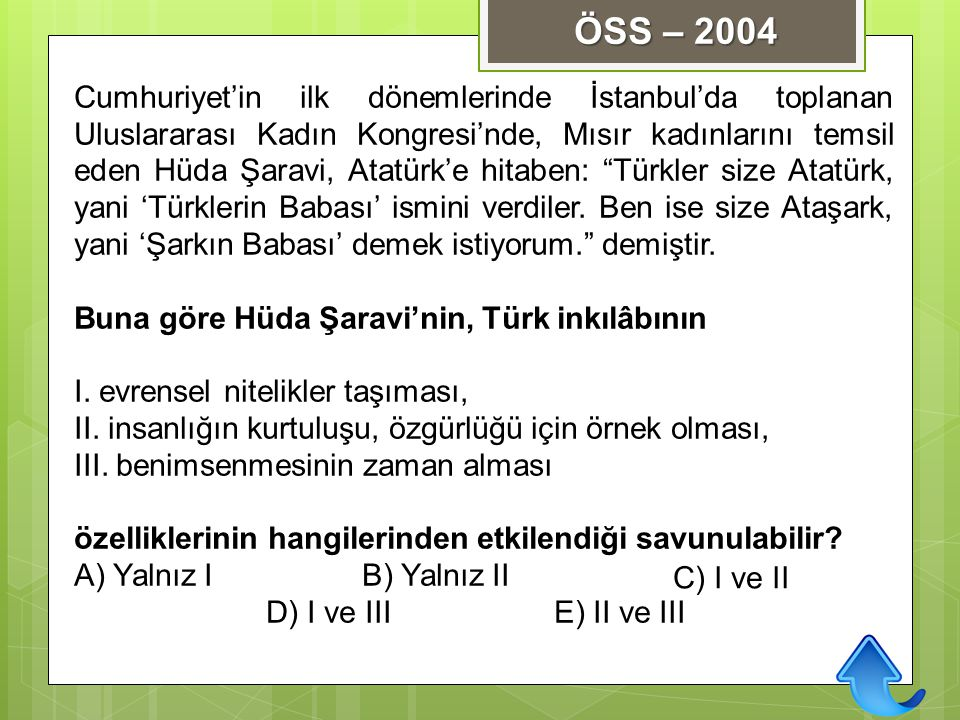 ÖSS – 2004