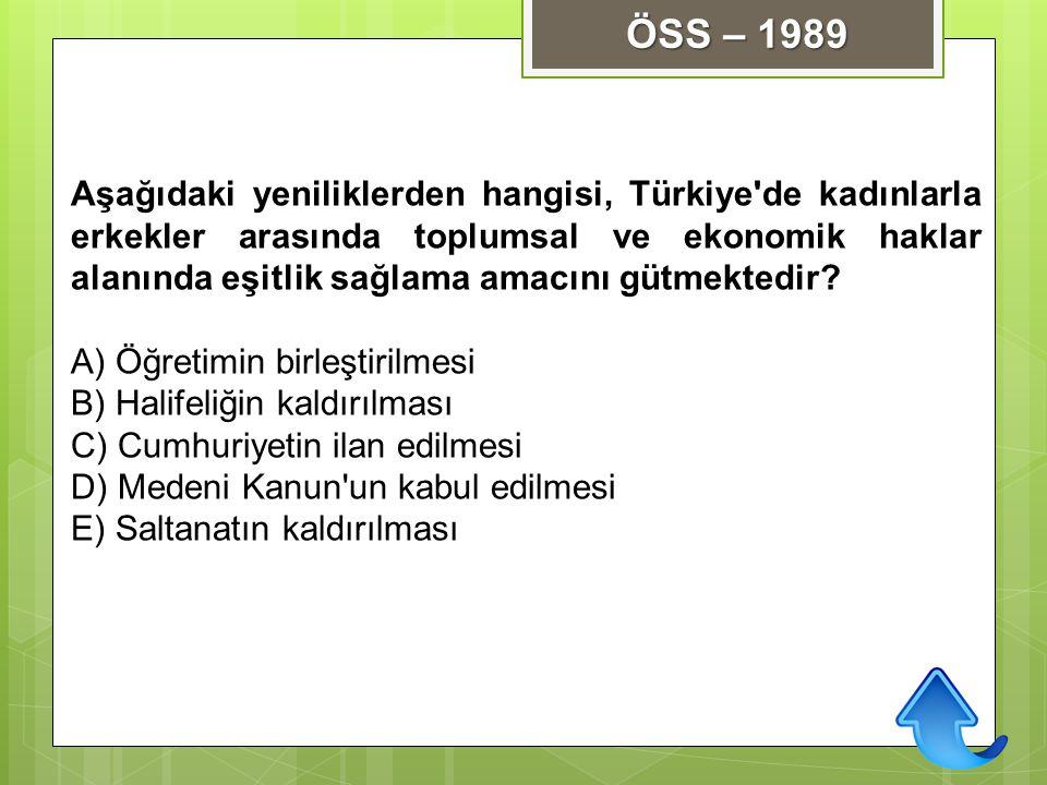 ÖSS – 1989