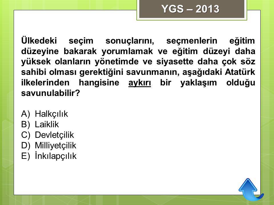 YGS – 2013