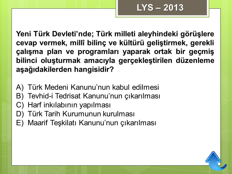 LYS – 2013
