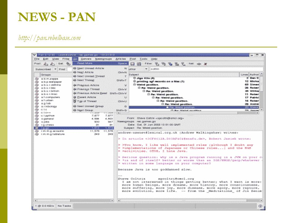 NEWS - PAN http://pan.rebelbase.com