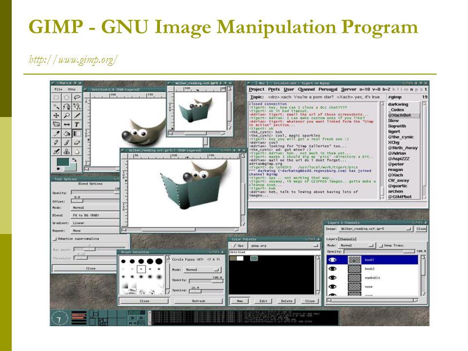 GIMP - GNU Image Manipulation Program http://www.gimp.org/