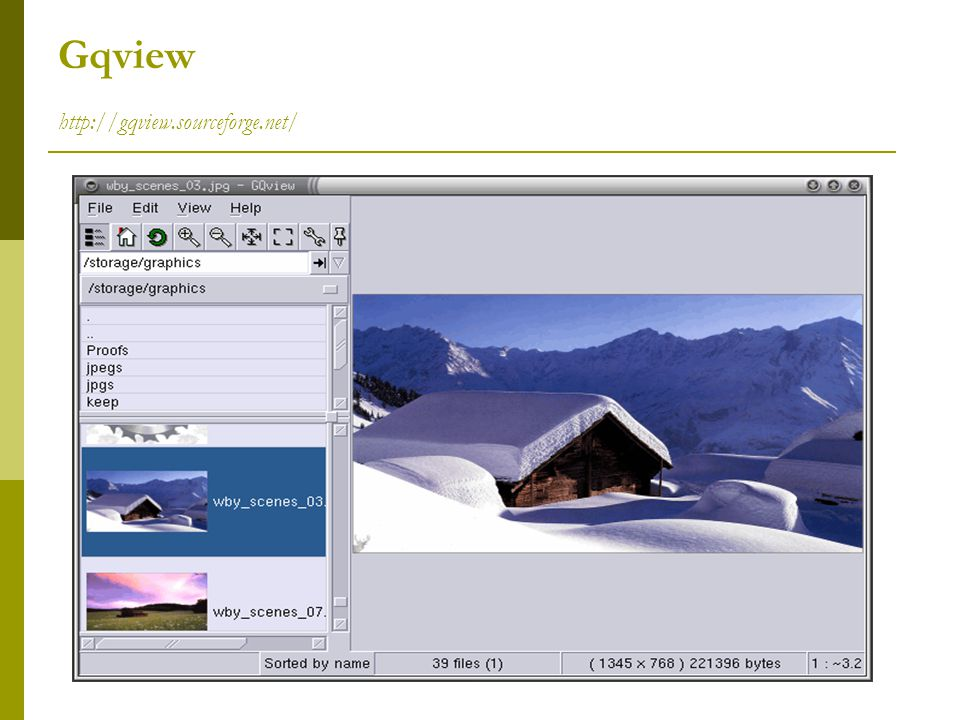 Gqview http://gqview.sourceforge.net/
