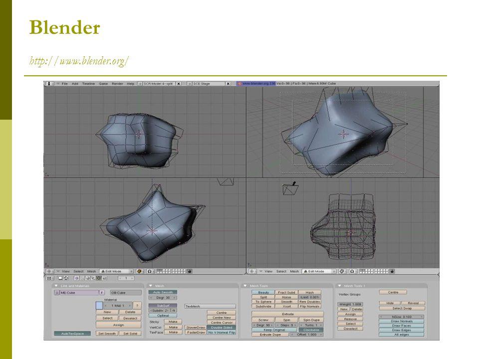 Blender http://www.blender.org/