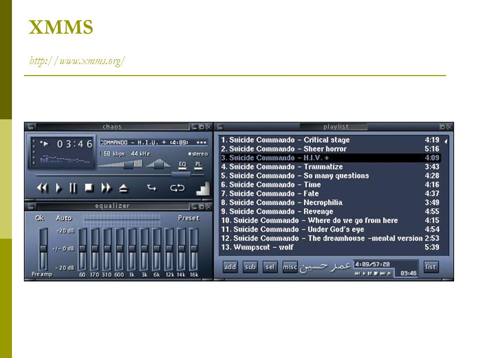 XMMS http://www.xmms.org/