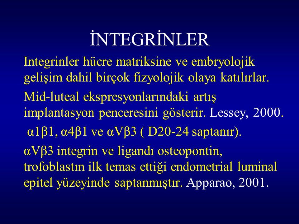 İNTEGRİNLER