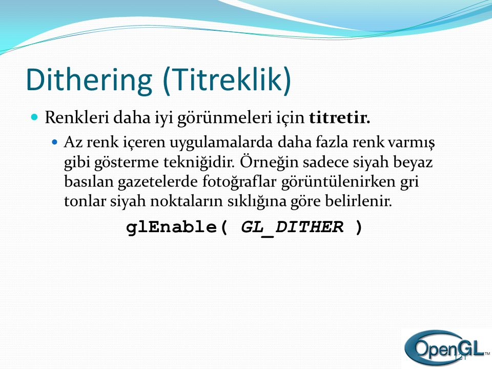 Dithering (Titreklik)