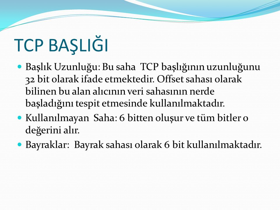 TCP BAŞLIĞI