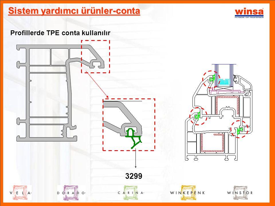 Sistem yardımcı ürünler-conta