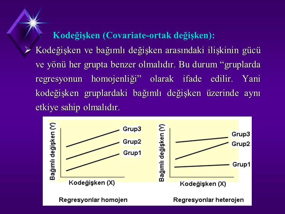 Kodeğişken (Covariate-ortak değişken):