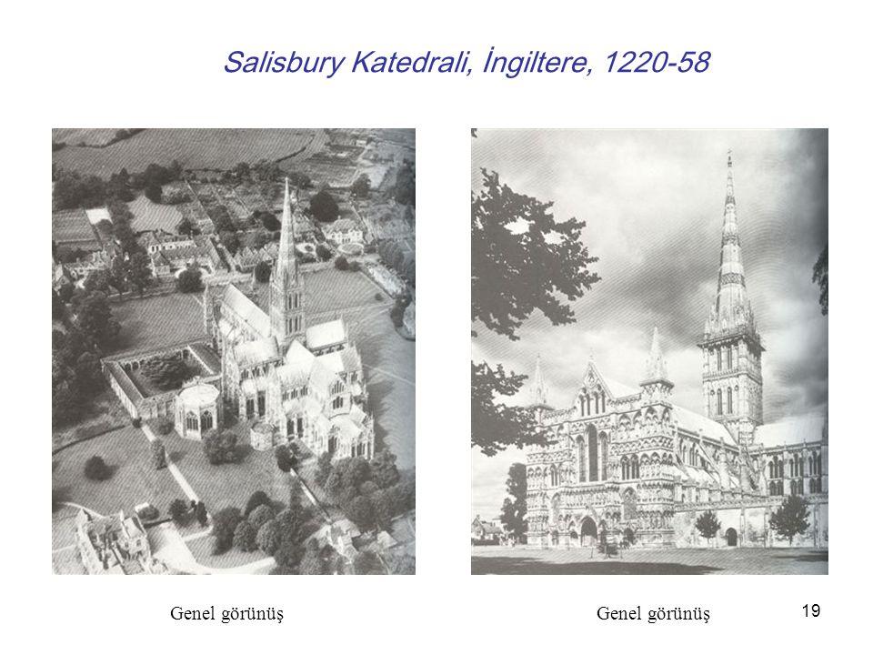 Salisbury Katedrali, İngiltere, 1220-58