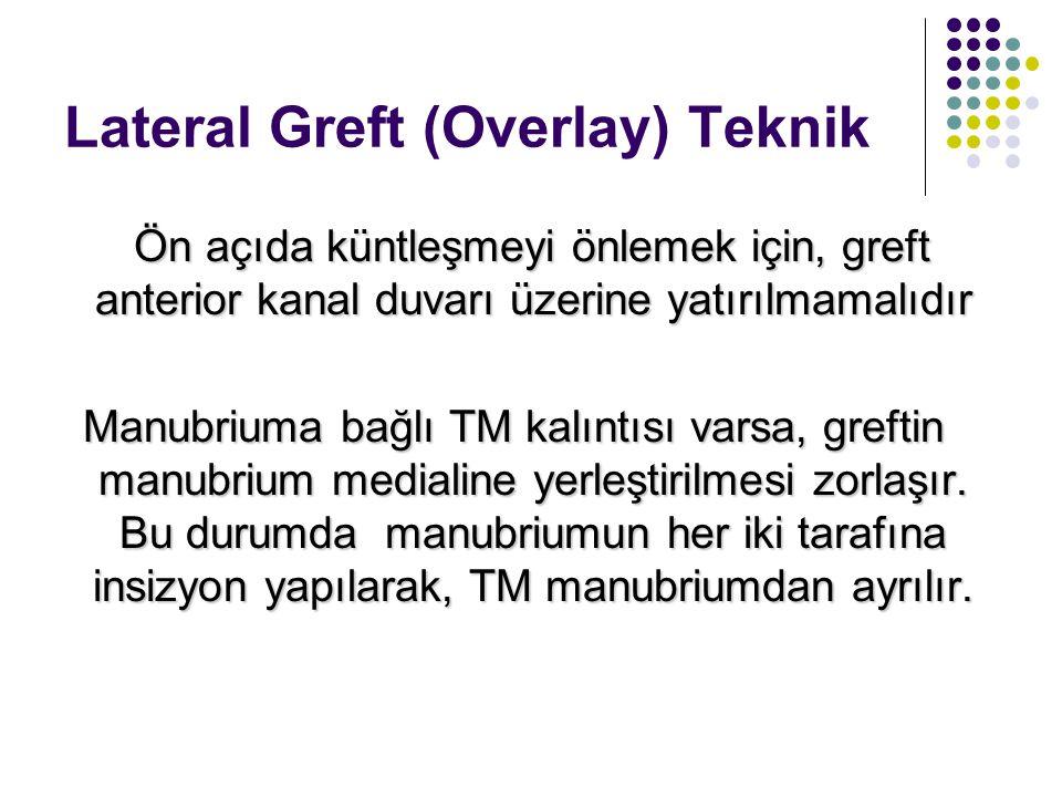 Lateral Greft (Overlay) Teknik