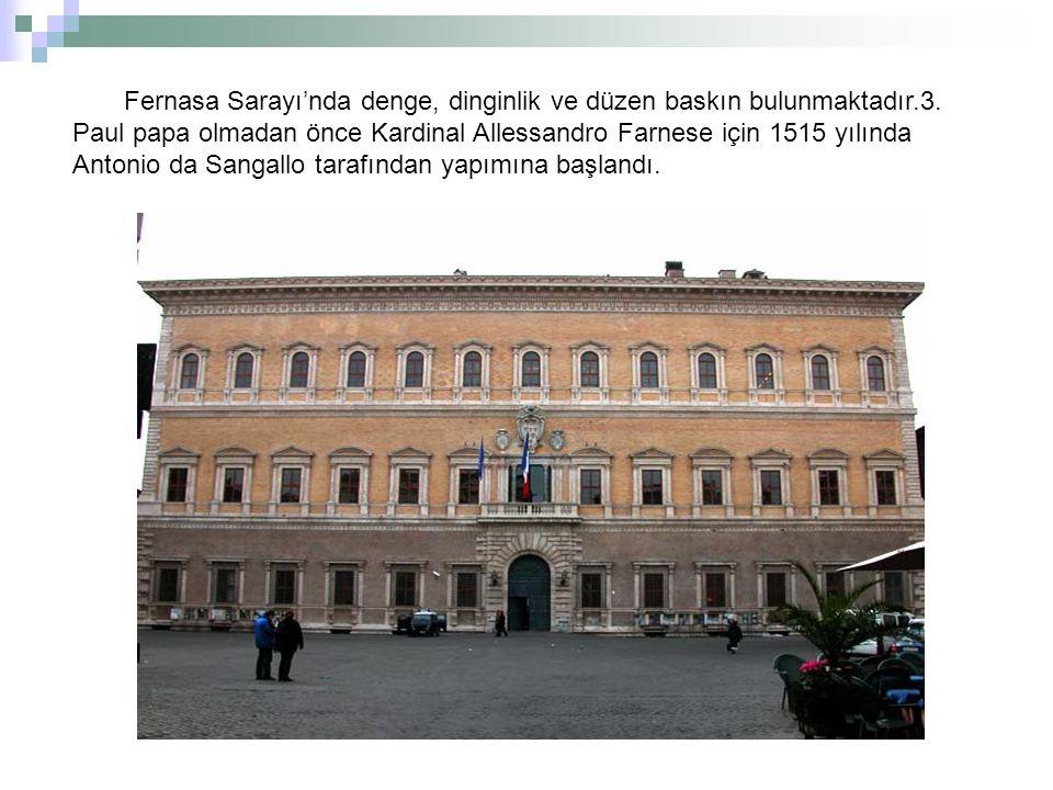 Fernasa Sarayı'nda denge, dinginlik ve düzen baskın bulunmaktadır. 3