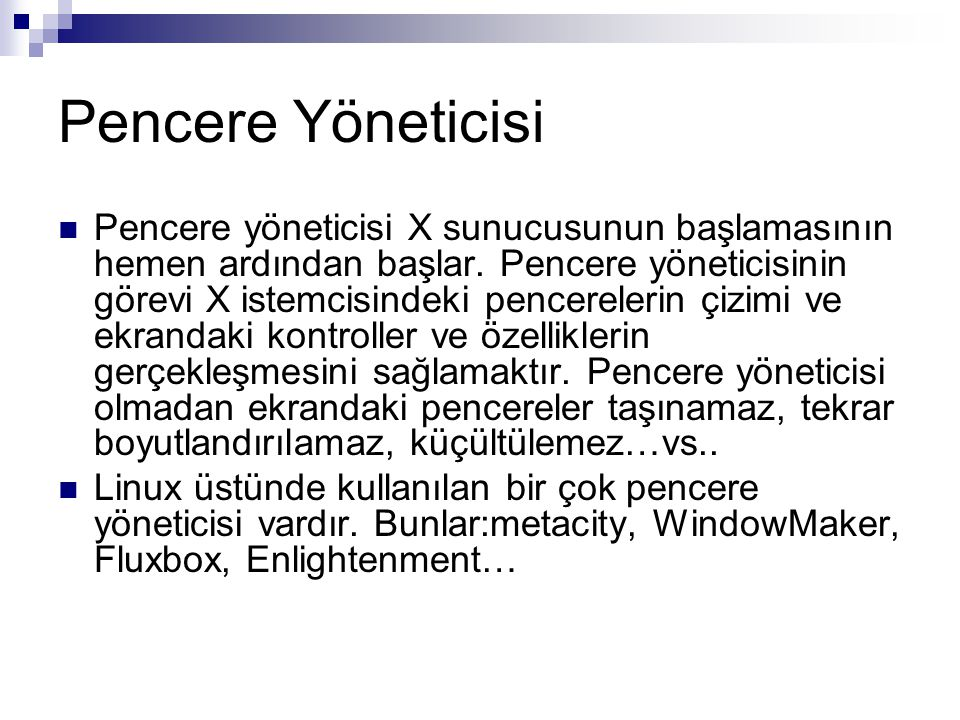 Pencere Yöneticisi