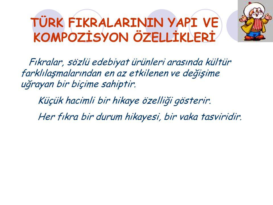 TÜRK FIKRALARININ YAPI VE KOMPOZİSYON ÖZELLİKLERİ