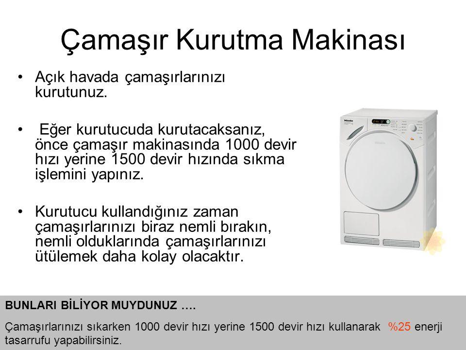 Çamaşır Kurutma Makinası