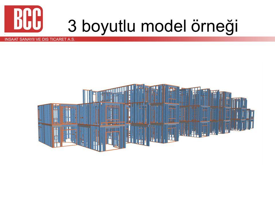 3 boyutlu model örneği