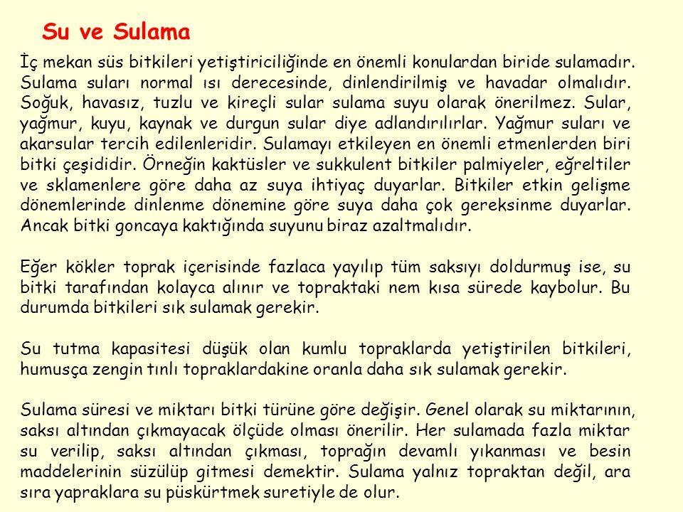 Su ve Sulama