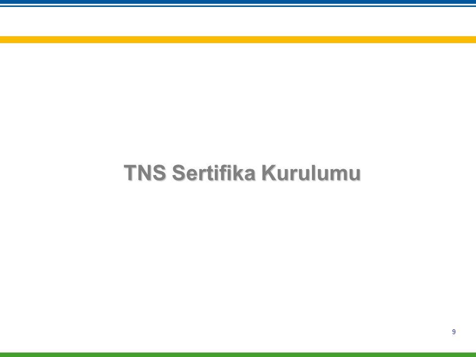 TNS Sertifika Kurulumu