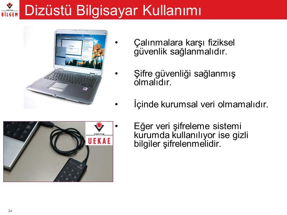 Dizüstü Bilgisayar Kullanımı