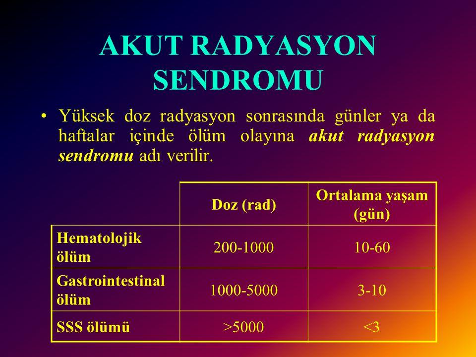 AKUT RADYASYON SENDROMU