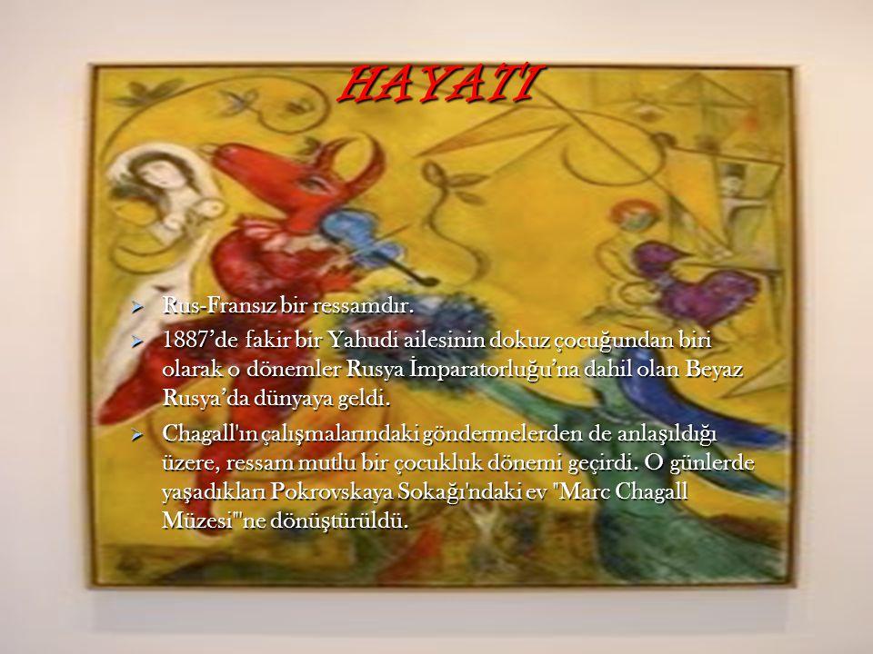 HAYATI Rus-Fransız bir ressamdır.