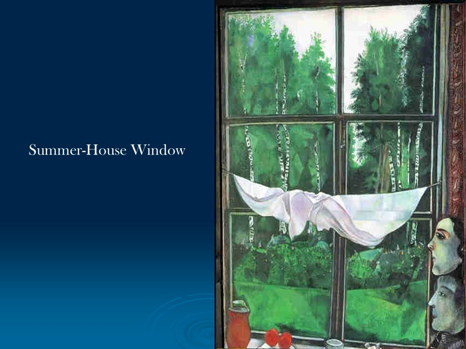 Summer-House Window