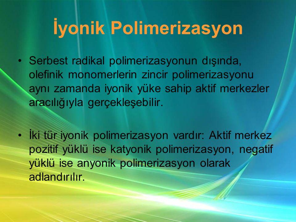 İyonik Polimerizasyon