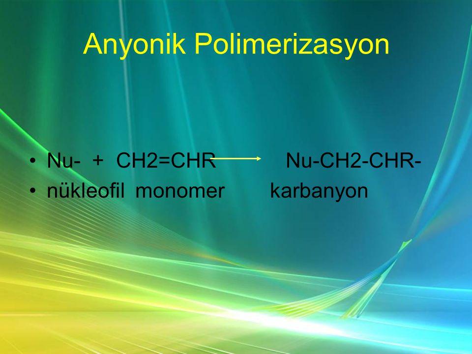 Anyonik Polimerizasyon