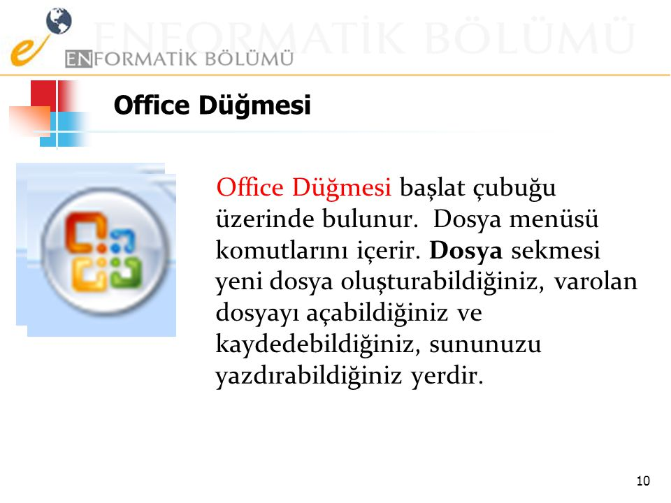 Office Düğmesi