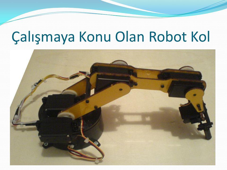 Çalışmaya Konu Olan Robot Kol