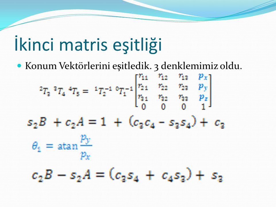İkinci matris eşitliği