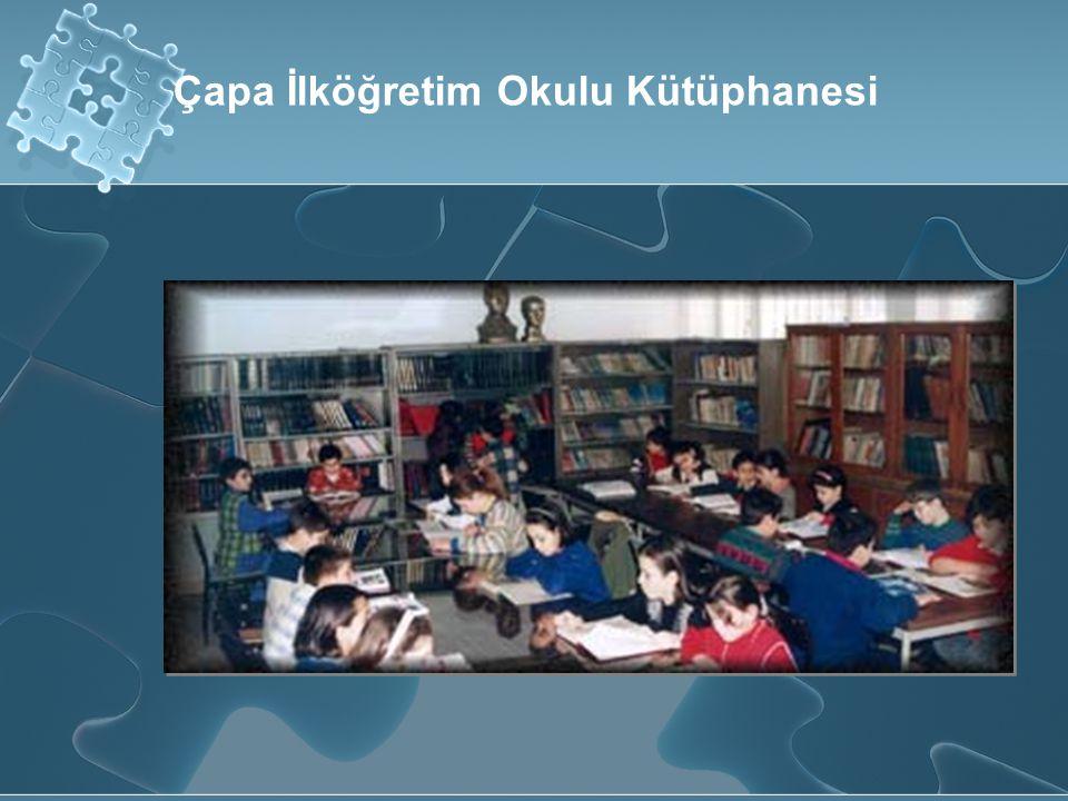 Çapa İlköğretim Okulu Kütüphanesi