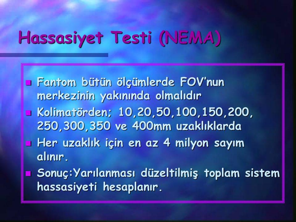 Hassasiyet Testi (NEMA)