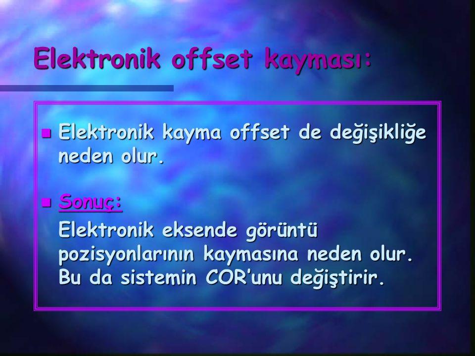 Elektronik offset kayması: