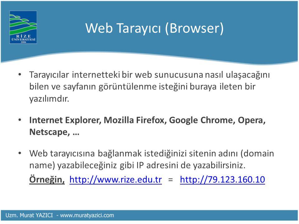 Web Tarayıcı (Browser)