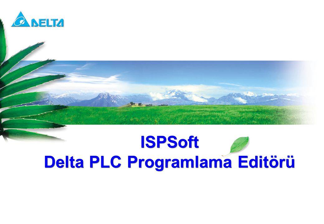 Delta PLC Programlama Editörü