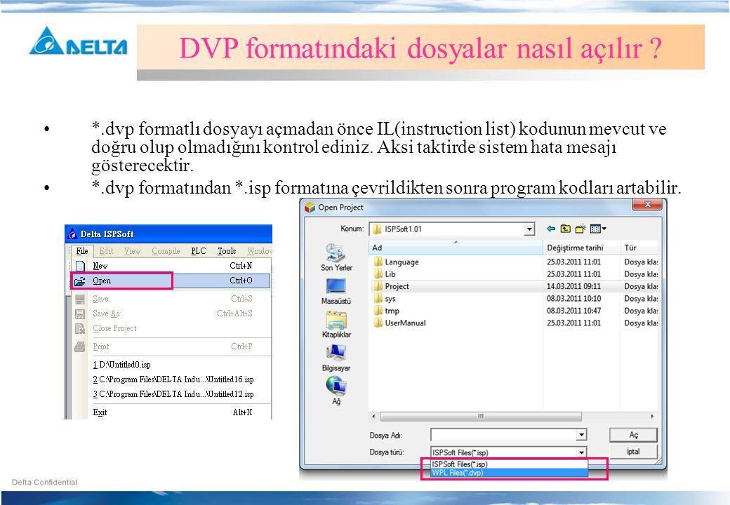 DVP formatındaki dosyalar nasıl açılır