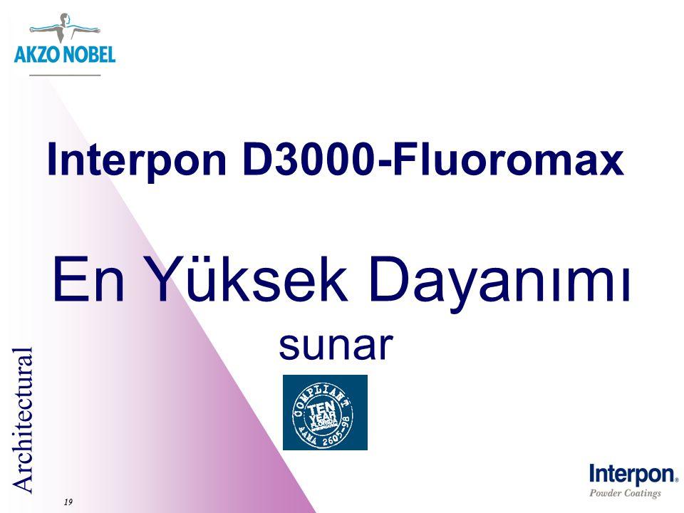 Interpon D3000-Fluoromax En Yüksek Dayanımı sunar 19
