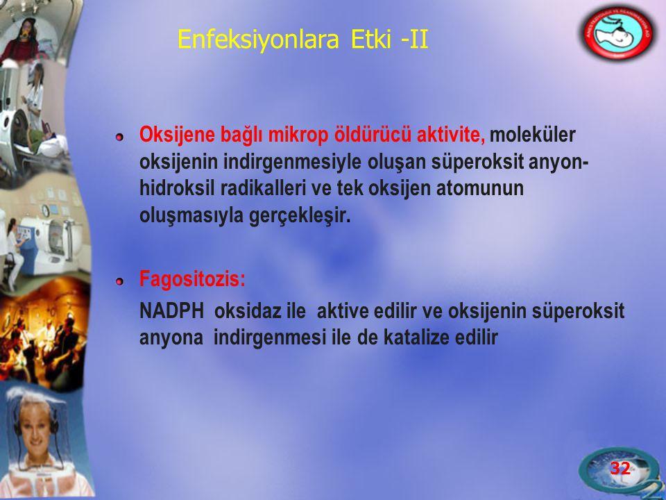 Enfeksiyonlara Etki -II